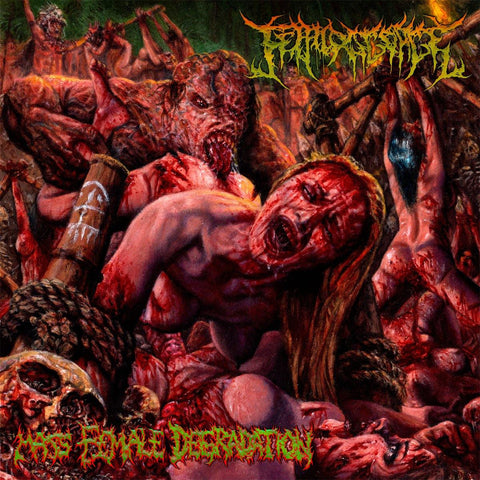 "Fetal Disgorge "" 'Mass Female Degradation"" CD"