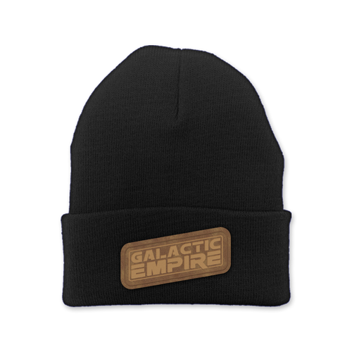"Buy – Galactic Empire ""Slant Logo"" Beanie – Band & Music Merch – Massacre Merch"