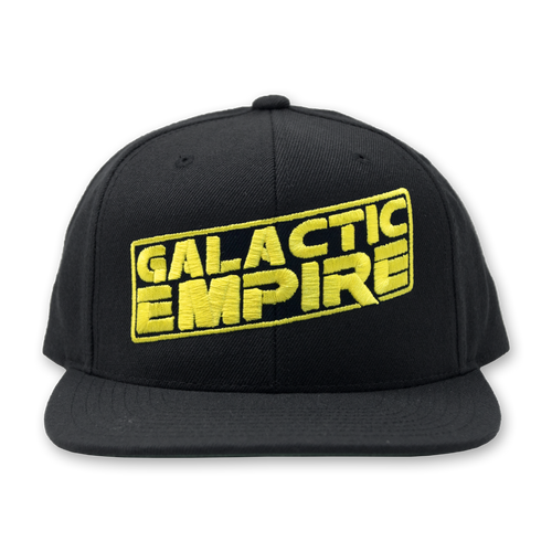"Buy – Galactic Empire ""Slant Logo"" Snapback – Band & Music Merch – Massacre Merch"