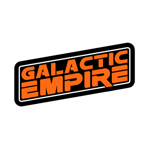 "Galactic Empire ""Logo"" Sticker"