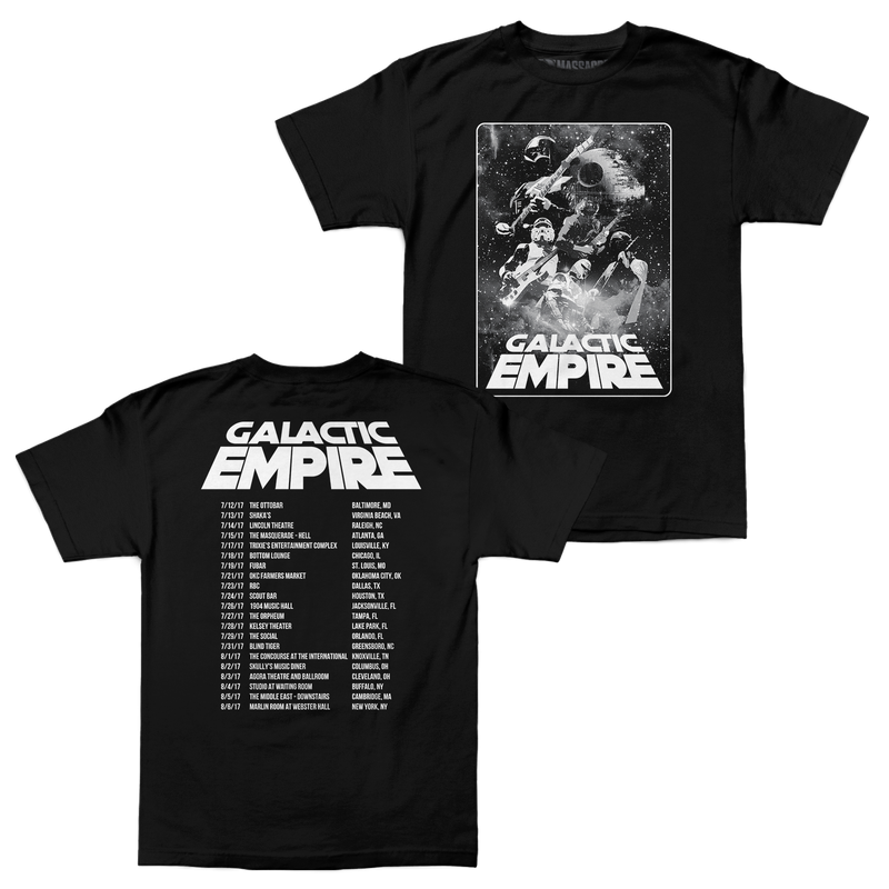 "Galactic Empire ""Summer 2017 Tour"" Shirt"