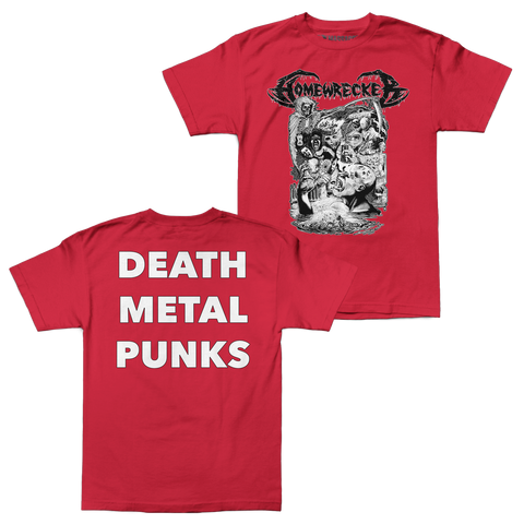 "Homewrecker ""Death Metal Punks"" Shirt"