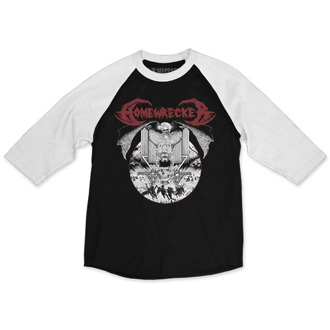 "Homewrecker ""Organ Circle"" Raglan"