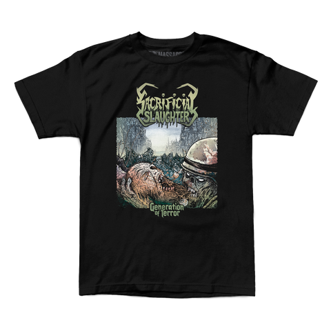 "Sacrificial Slaughter ""Generation Of Terror"" Shirt"