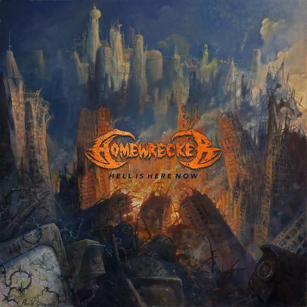 "Homewrecker ""Hell Is Here Now"" 12"""