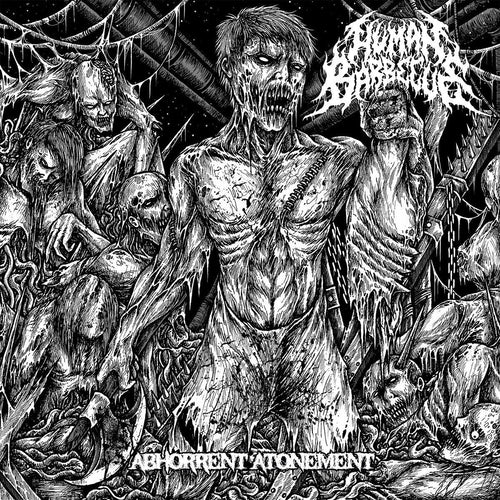 "Buy – Human Barbecue ""Abhorrant Atonment"" CD – Band & Music Merch – Massacre Merch"