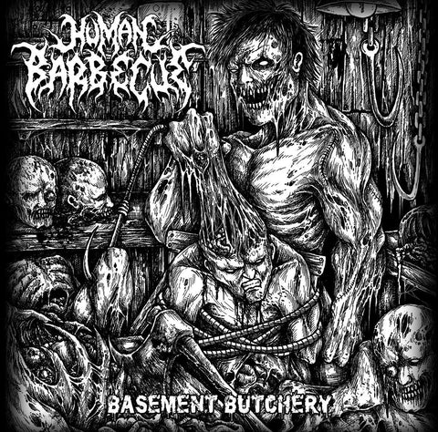 "Human Barbecue ""Basement Butchery"" CD"