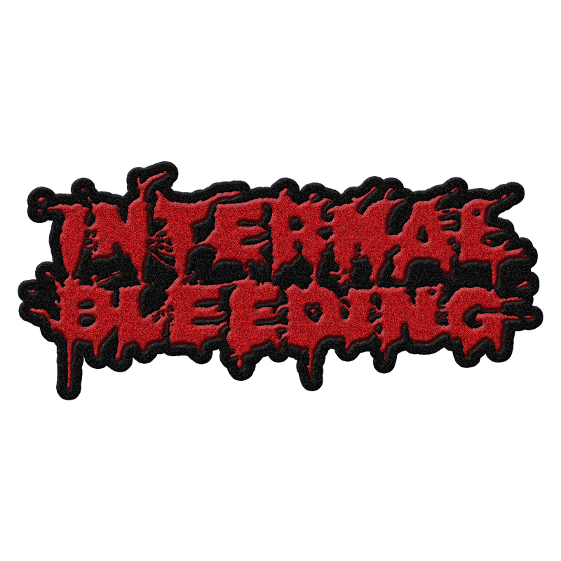"Internal Bleeding ""Text Logo"" Patch"