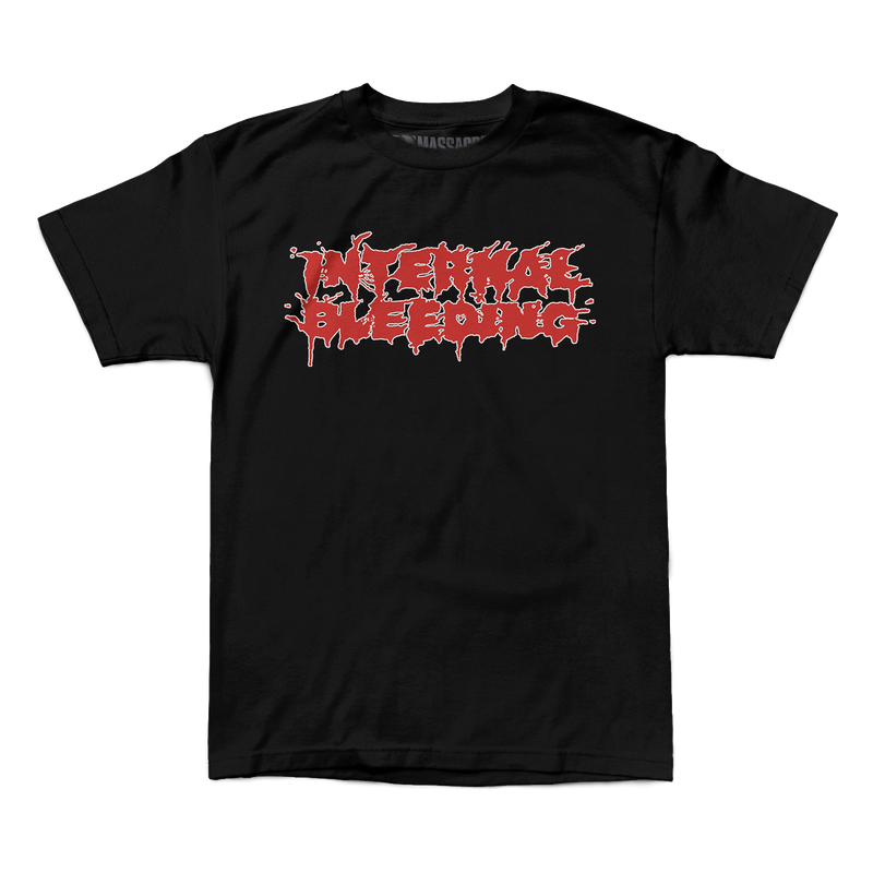 "Internal Bleeding ""Splatter Logo"" Shirt"