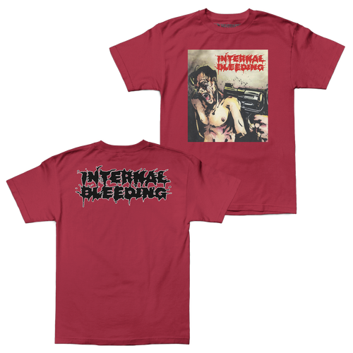 "Buy – Internal Bleeding ""Voracious Contempt"" Shirt – Band & Music Merch – Massacre Merch"