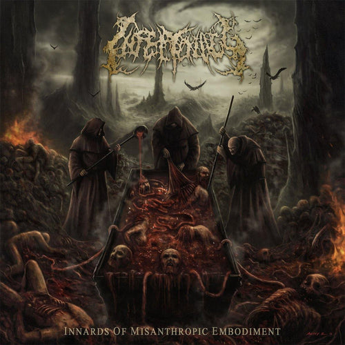 "Infectology ""Innards of Misanthropic Embodiment"" CD"