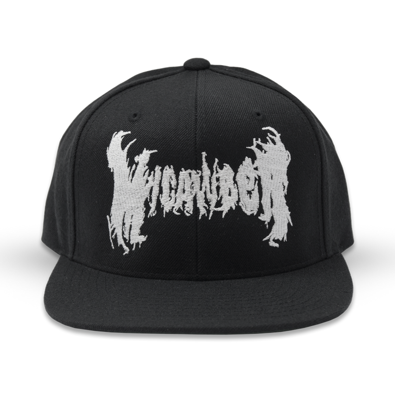 "Buy – Micawber ""Fire Logo"" Snapback – Band & Music Merch – Massacre Merch"