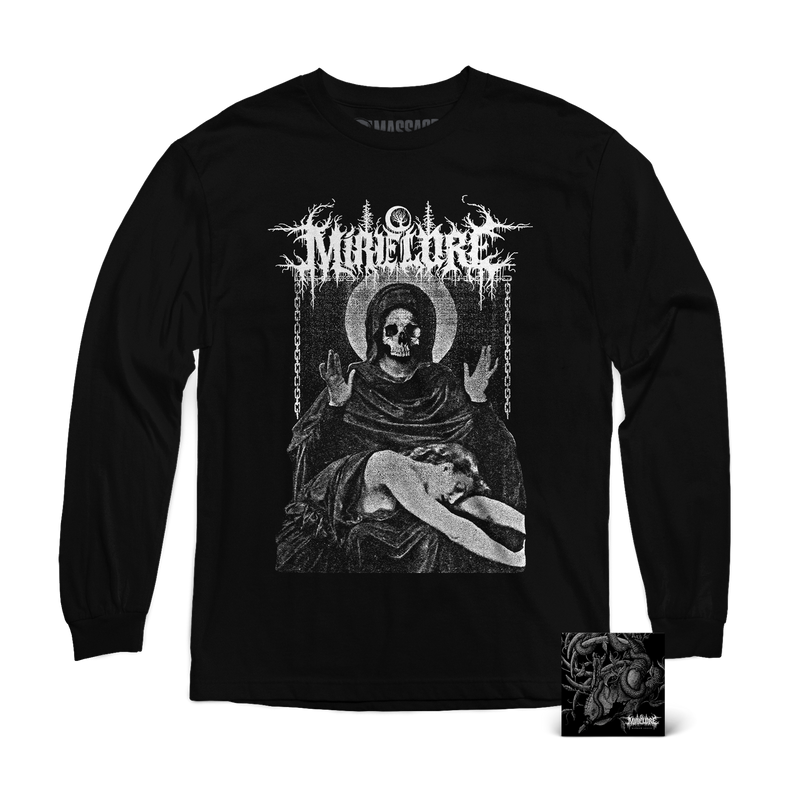 "Mire Lore ""Consolation Long Sleeve & Marrow Leach CD"" Bundle"