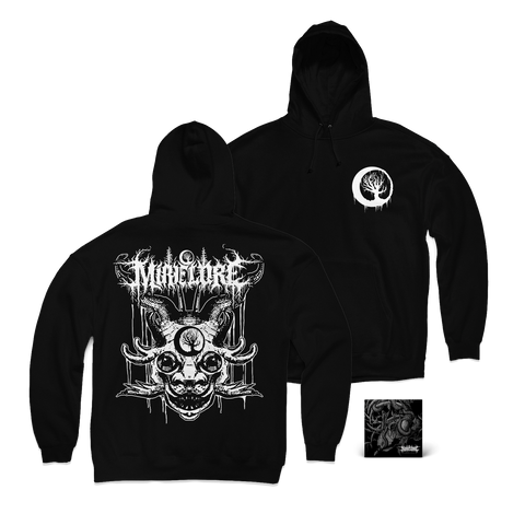 "Mire Lore ""Creature Hoodie & Marrow Leach CD"" Bundle"
