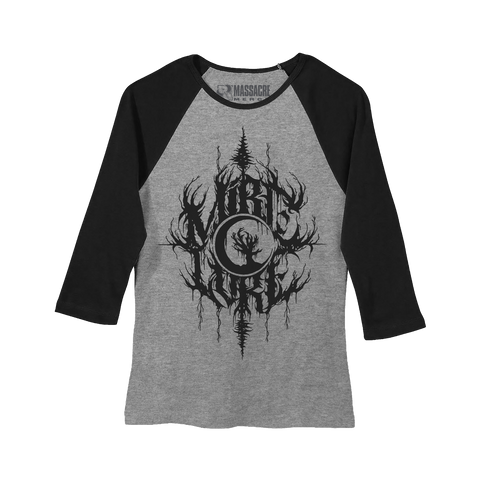 "Mire Lore ""Tree Logo"" Ladies Raglan"