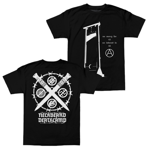 "Buy – Neckbeard Deathcamp ""45"" Shirt – Band & Music Merch – Massacre Merch"