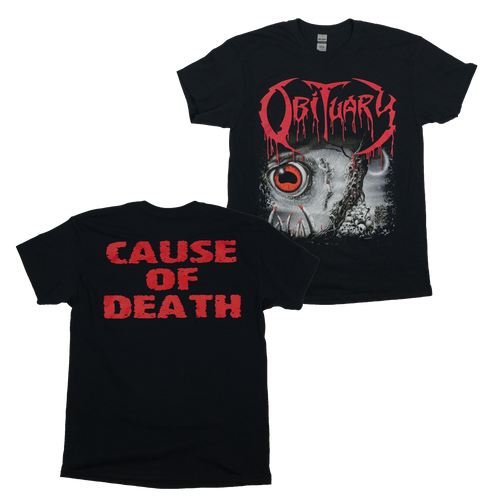"Obituary ""Cause of Death"" Shirt"