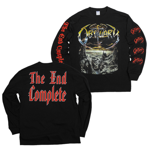 "Obituary ""The End Complete"" Long Sleeve"