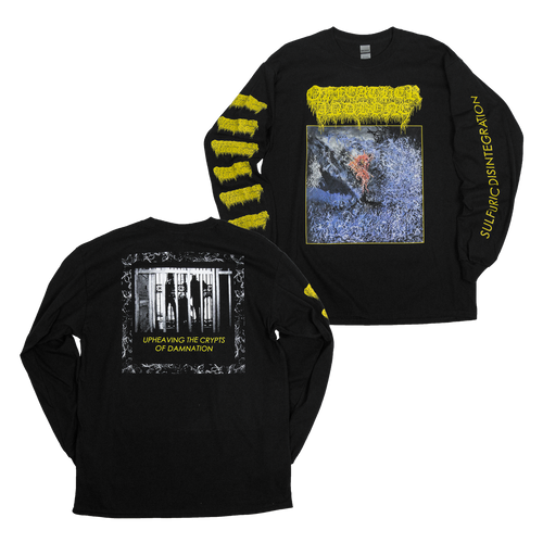 "Buy Now – Of Feather and Bone ""Sulfuric Disintegration"" Long Sleeve – Massacre Merch"