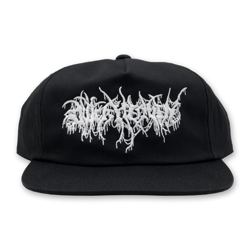 "Buy – Outer Heaven ""Stringy Skull Logo"" Snapback – Band & Music Merch – Massacre Merch"