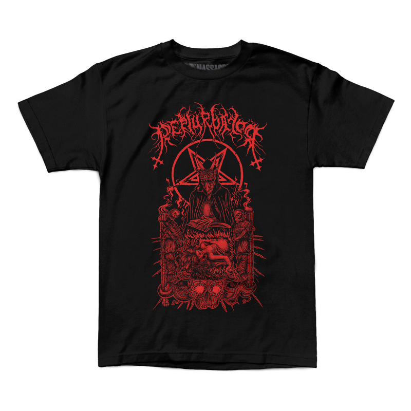 "Perturbator ""Business With Satan"" Shirt"
