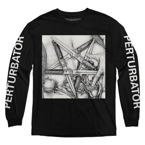 "Perturbator ""Pentaknife"" Long Sleeve"