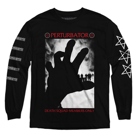 "Perturbator ""Death Squad"" Long Sleeve"