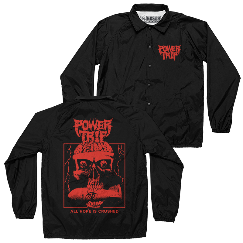 "Power Trip ""Hope Is Crushed"" Coaches Jacket"