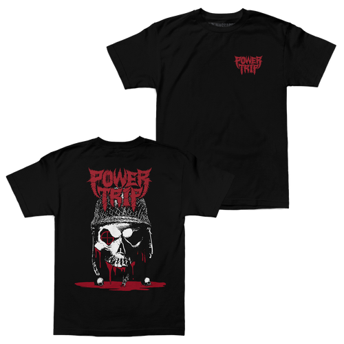 "Buy – Power Trip ""Shot"" Shirt – Band & Music Merch – Massacre Merch"