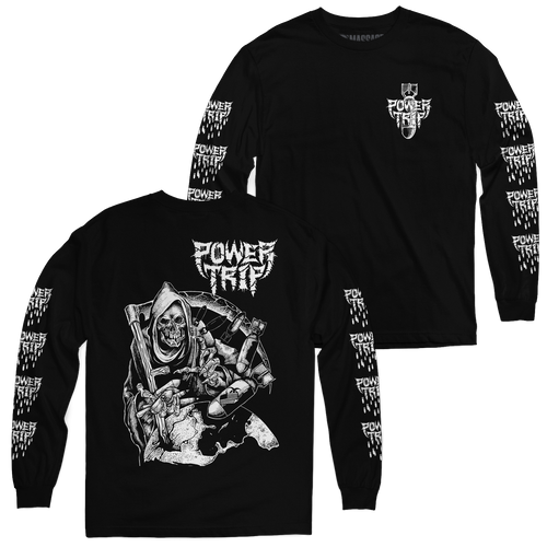 "Buy – Power Trip ""Reap"" Long Sleeve – Band & Music Merch – Massacre Merch"