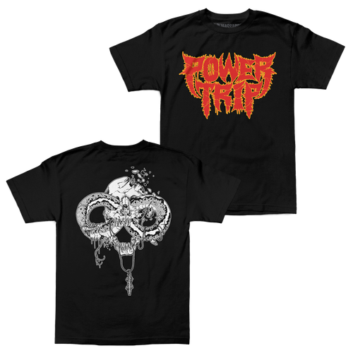 "Buy – Power Trip ""Spikey Snake"" Shirt – Band & Music Merch – Massacre Merch"