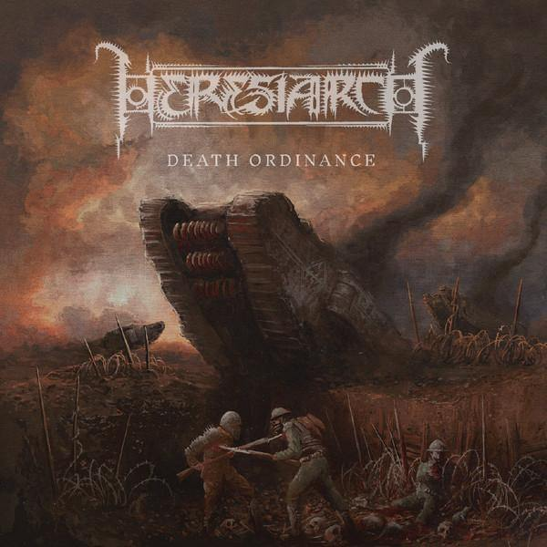 "Buy Now – Heresiarch ‎""Death Ordinance"" CD – Massacre Merch"