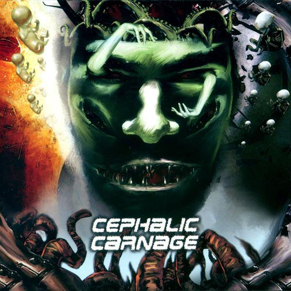 "Cephalic Carnage ""Conforming to Abnormality"" Reissue CD"