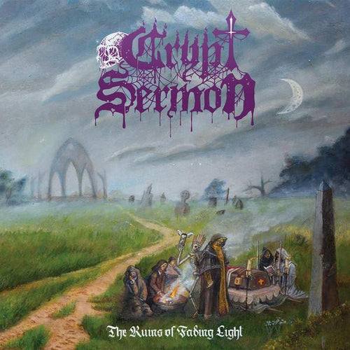 "Buy – Crypt Sermon ""The Ruins of Fading Light"" CD – Band & Music Merch – Massacre Merch"