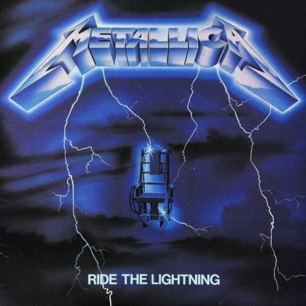 "Metallica ""Ride The Lightning"" 12"""
