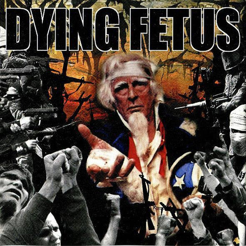 "Buy – Dying Fetus ""Destroy The Opposition"" 12"" – Band & Music Merch – Massacre Merch"