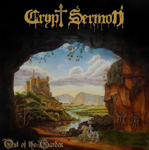 "Buy – Crypt Sermon ""Out of the Garden"" Cassette – Band & Music Merch – Massacre Merch"