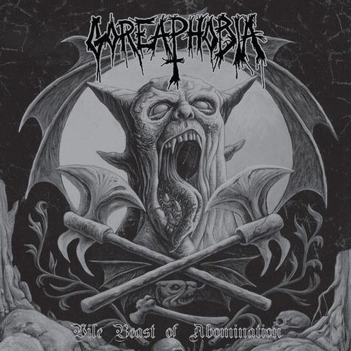 "Buy Now – Goreaphobia ‎""Vile Beast Of Abomination"" 12"" – Massacre Merch"