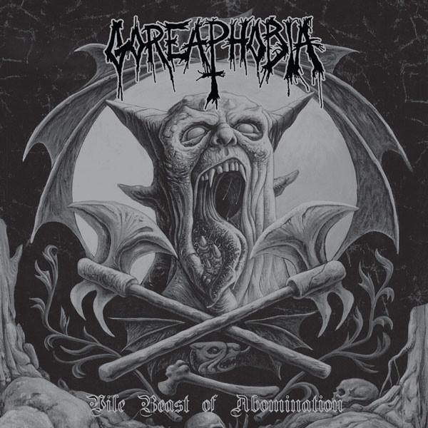 "Buy – Goreaphobia ‎""Vile Beast Of Abomination"" 12"" – Band & Music Merch – Massacre Merch"