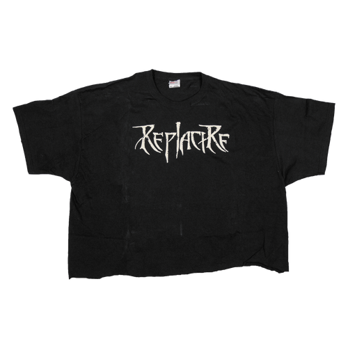"Replacire ""Logo"" Cropped Shirt"