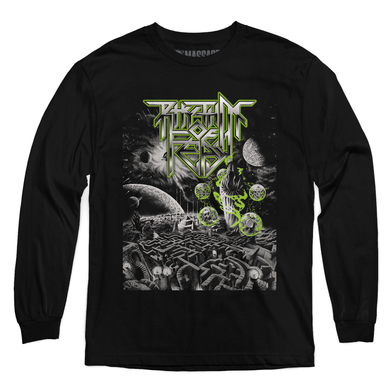 "Rhythm Of Fear ""Maze Of Confusion"" Long Sleeve"