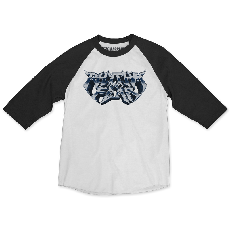 "Rhythm Of Fear ""Rock"" Raglan"