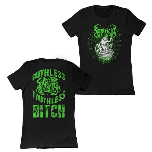 "Sacrificial Slaughter ""Spider Lady"" Ladies Shirt"
