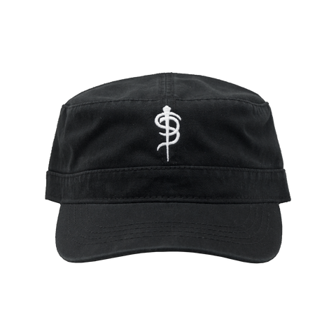 "Skinny Puppy ""Logo"" Military Cap"