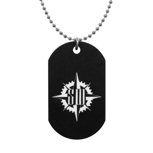 "Stabbing Westward ""Compass Logo"" Dog Tags"
