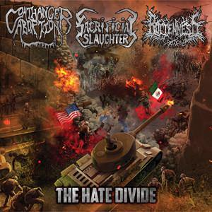 "Sacrificial Slaughter ""The Hate Divide"" CD"