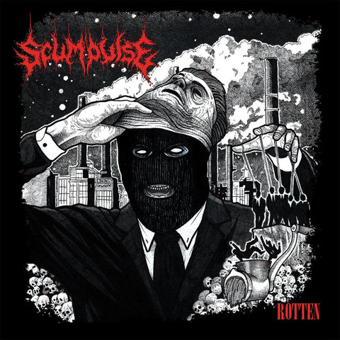 "Scumpulse ""Rotten"" CD"