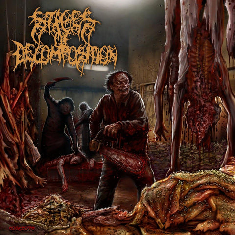 "Stages of Decomposition ""Piles of Rotting Flesh"" CD"