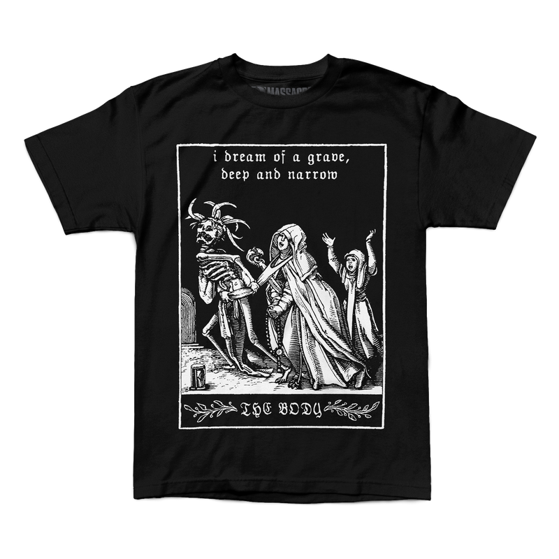 "The Body ""Grave"" Shirt"