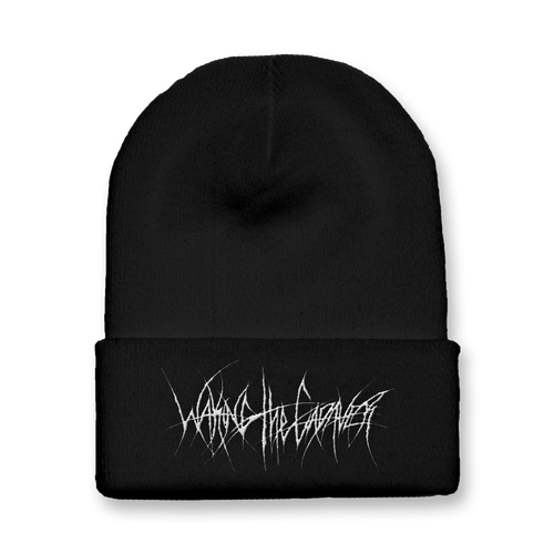 "Waking The Cadaver ""Thin Metal Logo"" Beanie"